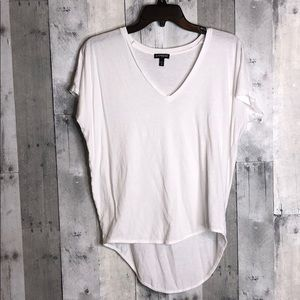Bundle of 2 white tops (Express & Charlotte Russe)